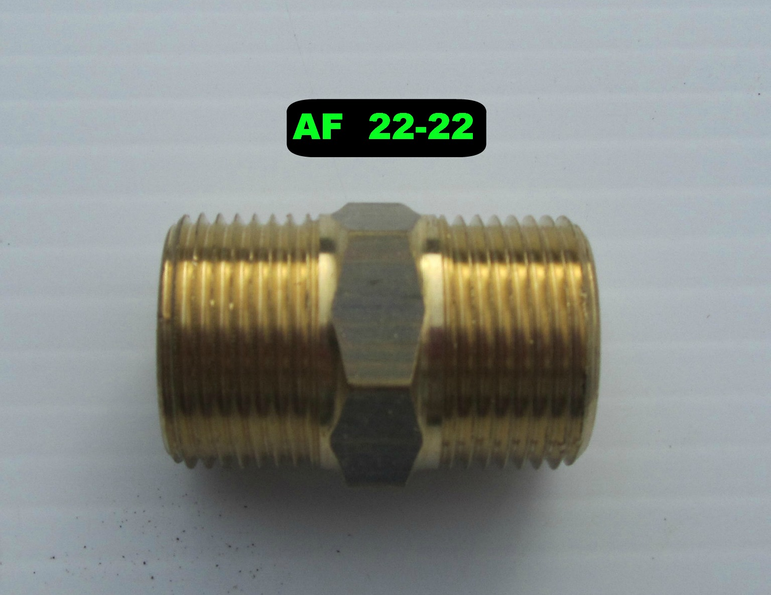 22mm M - 22mm M Joiner High Pressure Hose Fitting