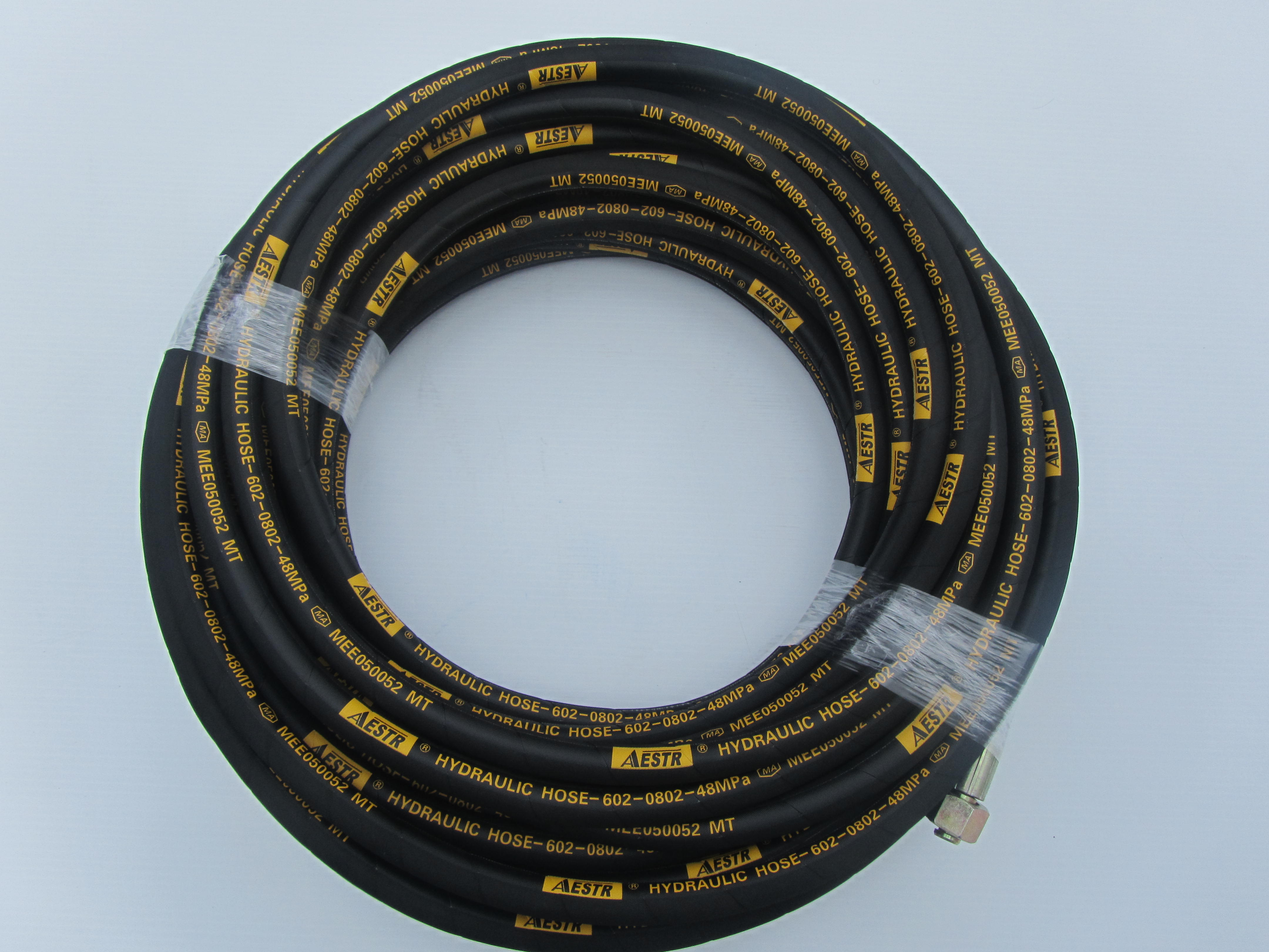 30 Metre Aestr Double Steel Braided High Pressure Hose with 22mm Screw Fittings