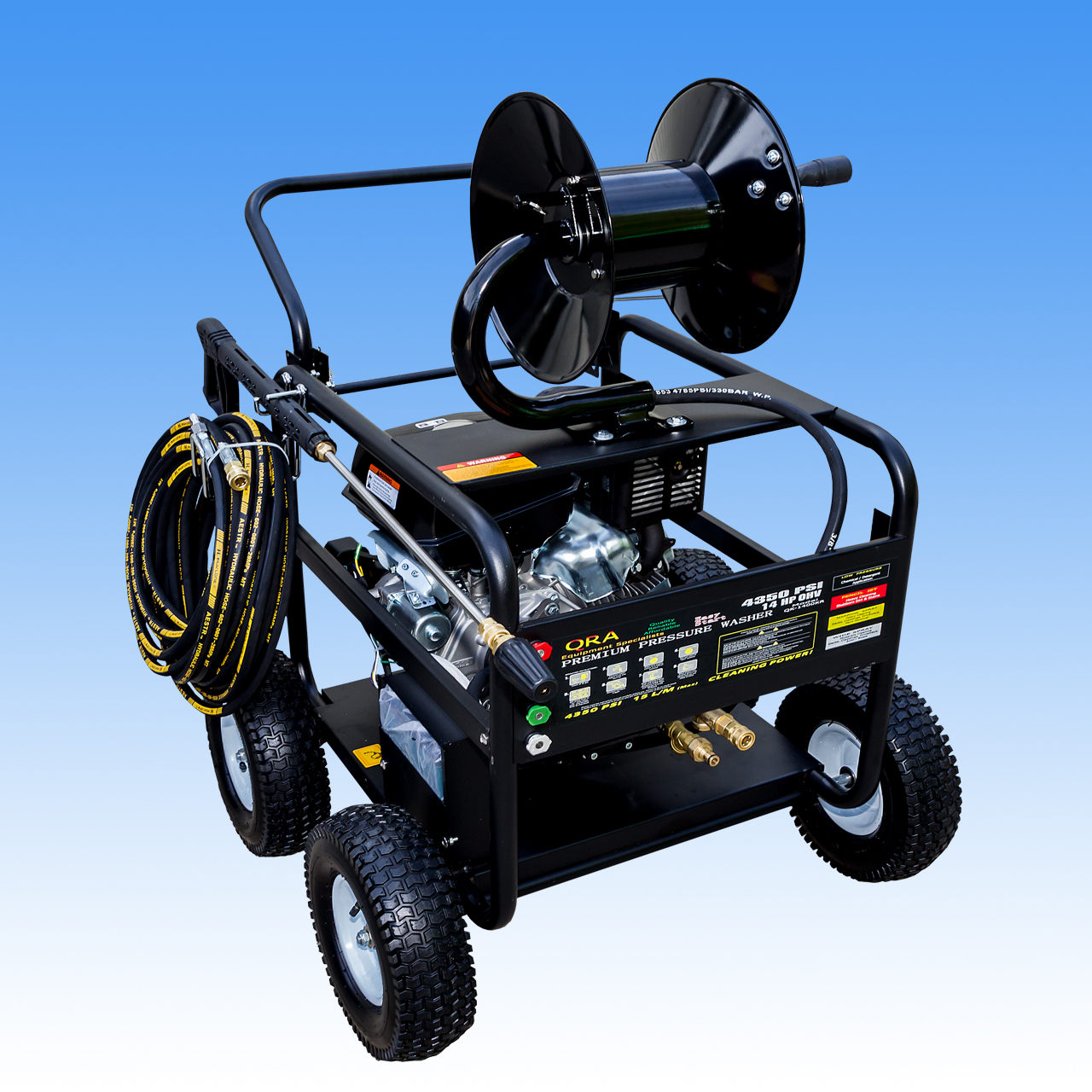 14hp Kohler High Pressure Washer Electric Start Engine with AR Pump And Full Bypass Unloader