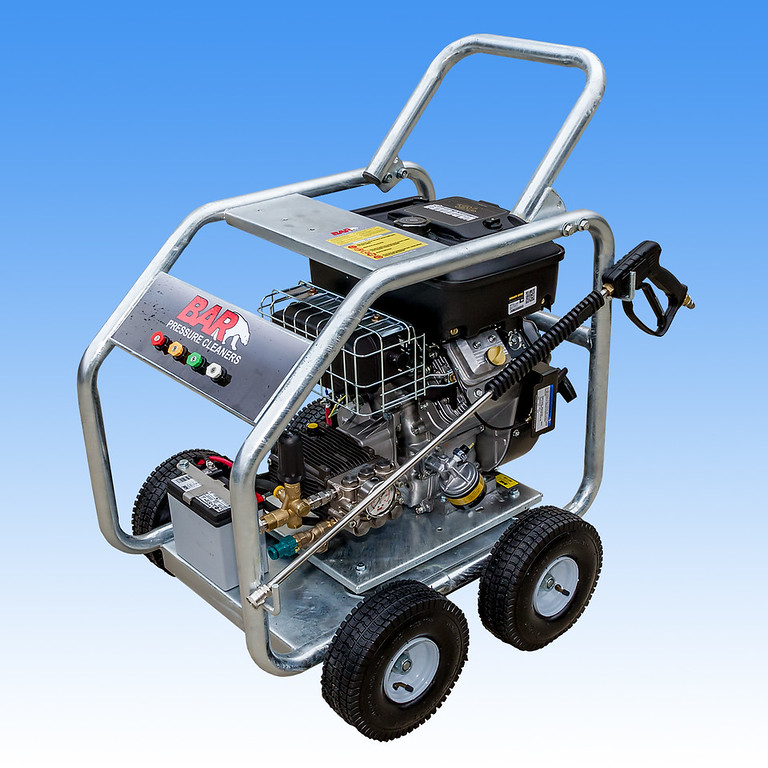 18hp Vanguard Electric Start Engine High Pressure Washer with  AR 4000psi Pump @ 21 L|Min QB1800 AR4