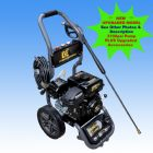6.0hp BE Power Ease Petrol Engine High  Pressure Washer With BE 3100psi Pump| 9 L|Min | Recoil Start | Main Image