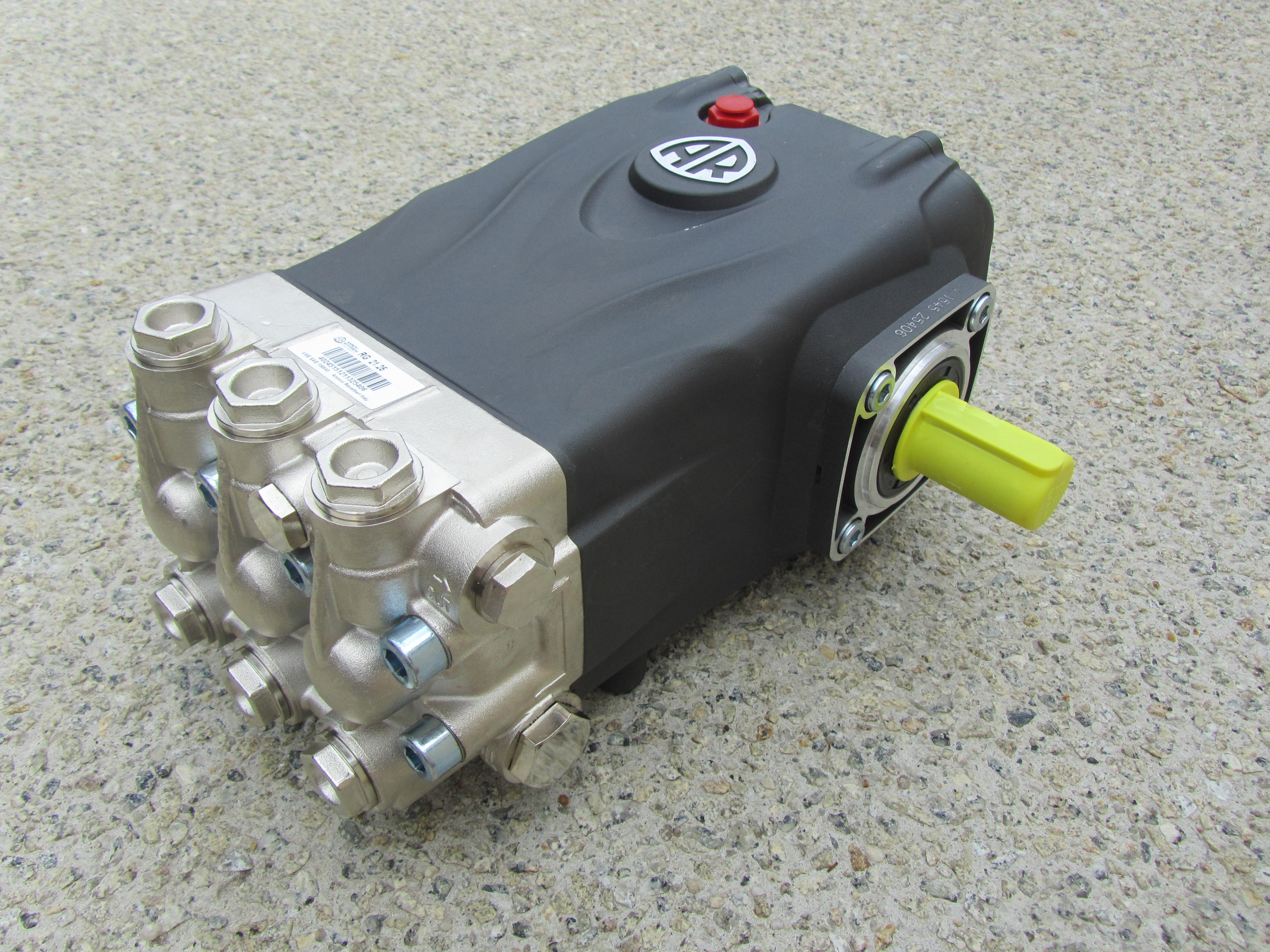 Annovi Reverberi 3600psi Pump Only 1450 RPM Gearbox OR Belt Driven   *21 LPM *Suits 16hp - 24hp Engines