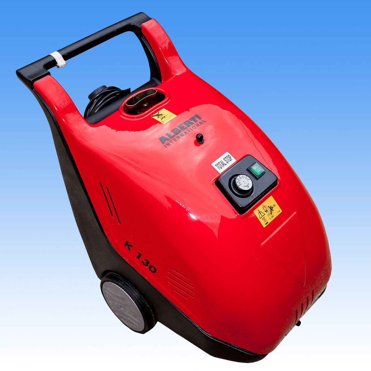 Alberti K130|8  1900psi   Electric | Diesel | HOT & COLD WATER High Pressure Washer Cleaner