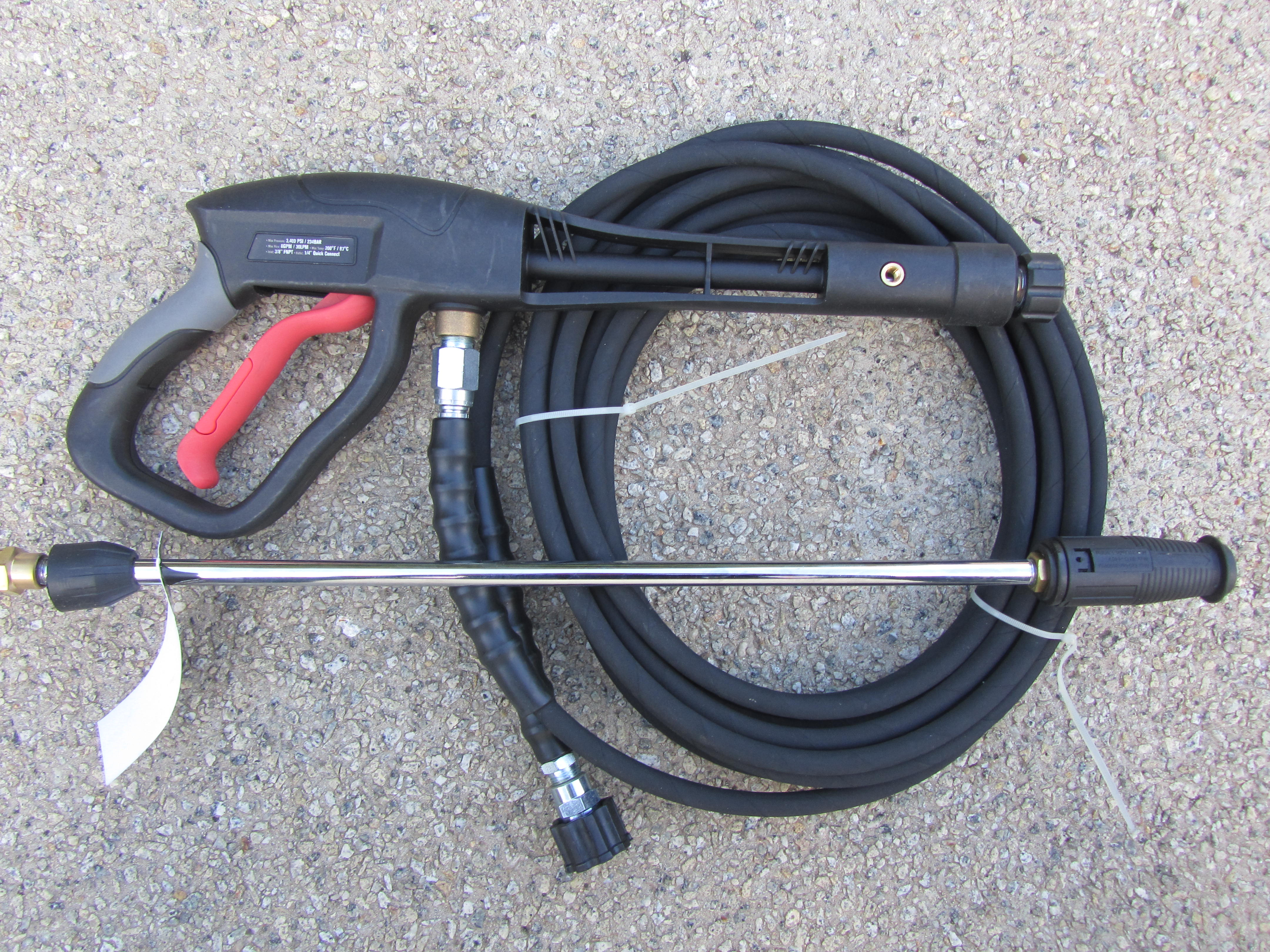 3100psi Electric and Petrol Pressure Washer Spray Gun and Hose Kit