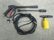 BE Electric Pressure Washer Spray Gun and Hose Kit 1800psi