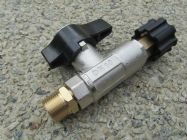 Ball Valve | Shut Off Valve For Pressure Washer Cleaner 3000psi | M22  M|F | Image 2