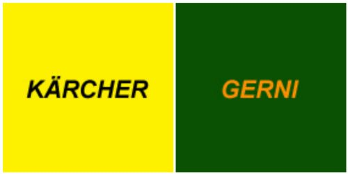 Karcher and Gerni Spare Parts