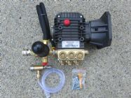 Comet Pump COMPLETE ASSEMBLY | ZWD4040 | 4000psi | External Bypass Unloader | 15.2 L|Min | Image 2