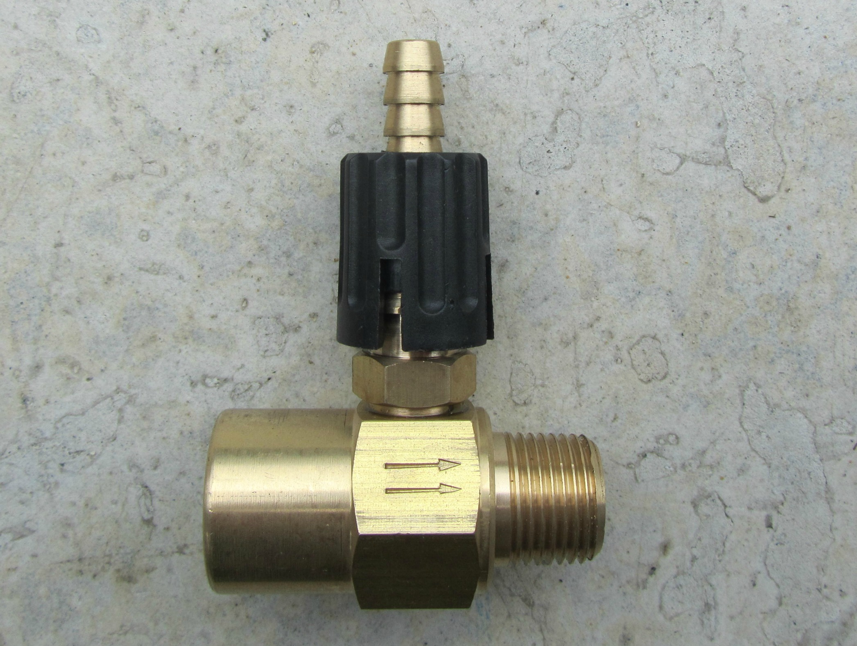 Adjustable Detergent Injector 3 8 M F Pressure Washers