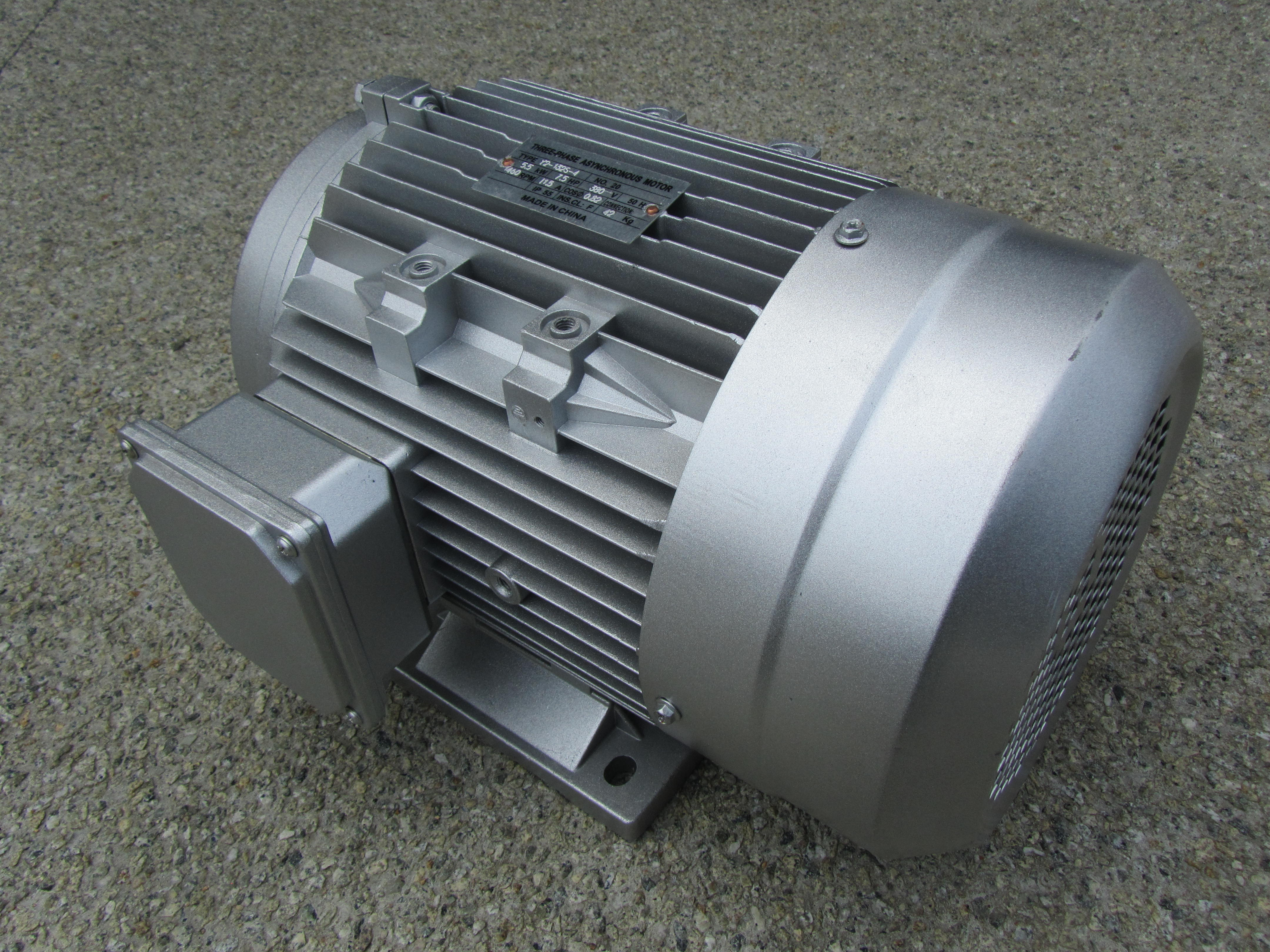 5.5Kw 7.5hp Three Phase Electric Motor