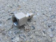 1|4 BSP F -  1|4 QC Stainless Steel Plug High Pressure Hose Fitting | Image 3