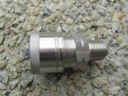 1|4 NPT M- 1|4 F QC Stainless Steel Coupler 5000psi | Image 2