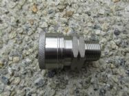 3|8 BSP M - 3|8 F Stainless Steel QC Coupler 5000psi | Image 2
