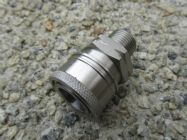 3|8 BSP M - 3|8 F Stainless Steel QC Coupler 5000psi | Main Image