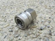 3|8 BSP F to 3|8 F Stainless Steel QC Coupler 5000psi | Main Image