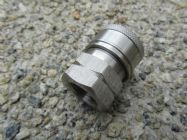 3|8 BSP F - 3|8 F Stainless Steel QC Coupler 5000psi