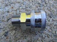 3|8 BSP M - 3|8 F QC Coupler High Pressure Hose Fitting | Main Image