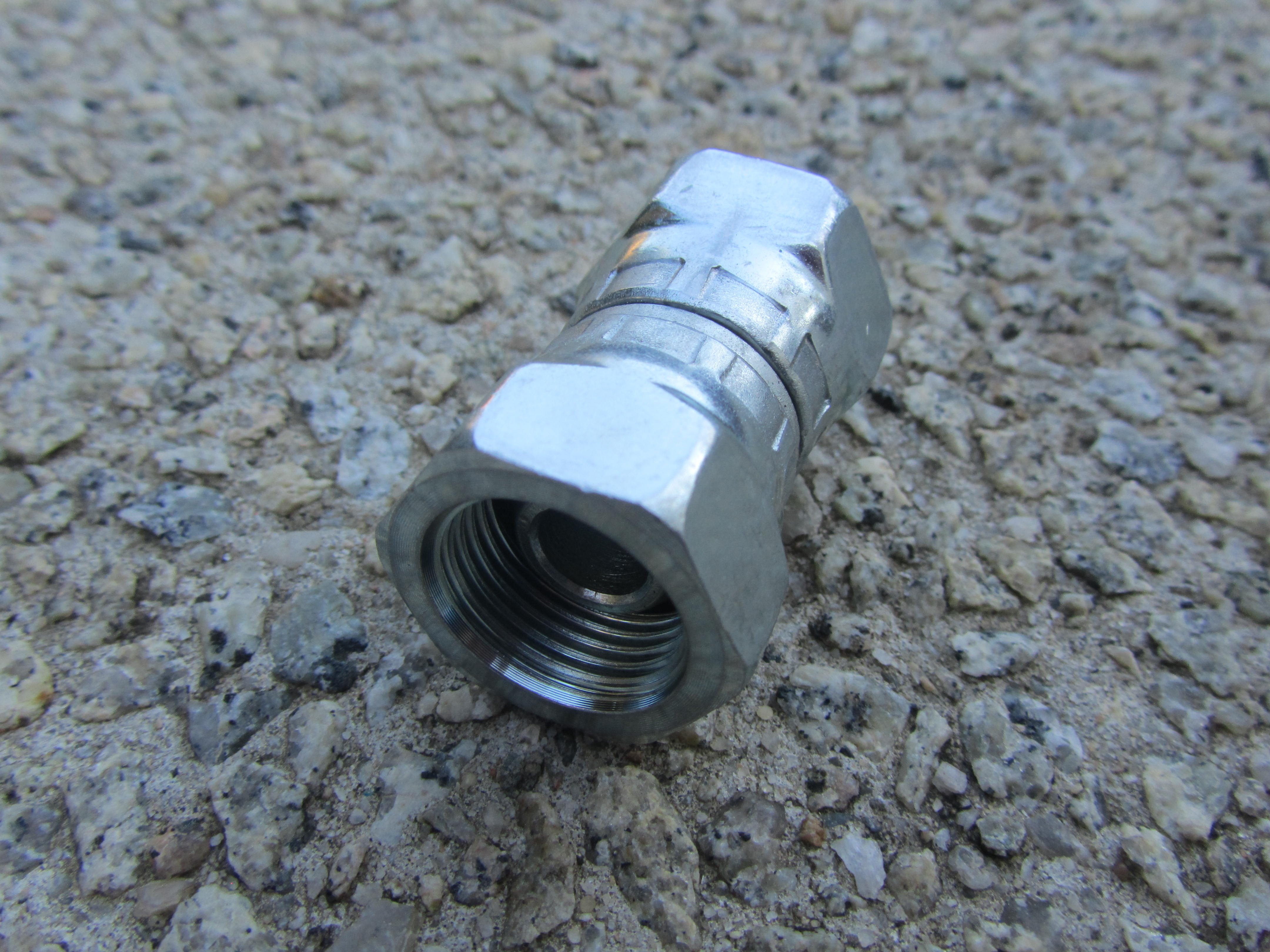 FSW 3|8 FS - 3|8 FF Adaptor Joiner High Pressure Hose Fitting