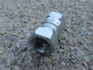 FSW 3|8 FS - 3|8 FF Adaptor Joiner High Pressure Hose Fitting | Main Image