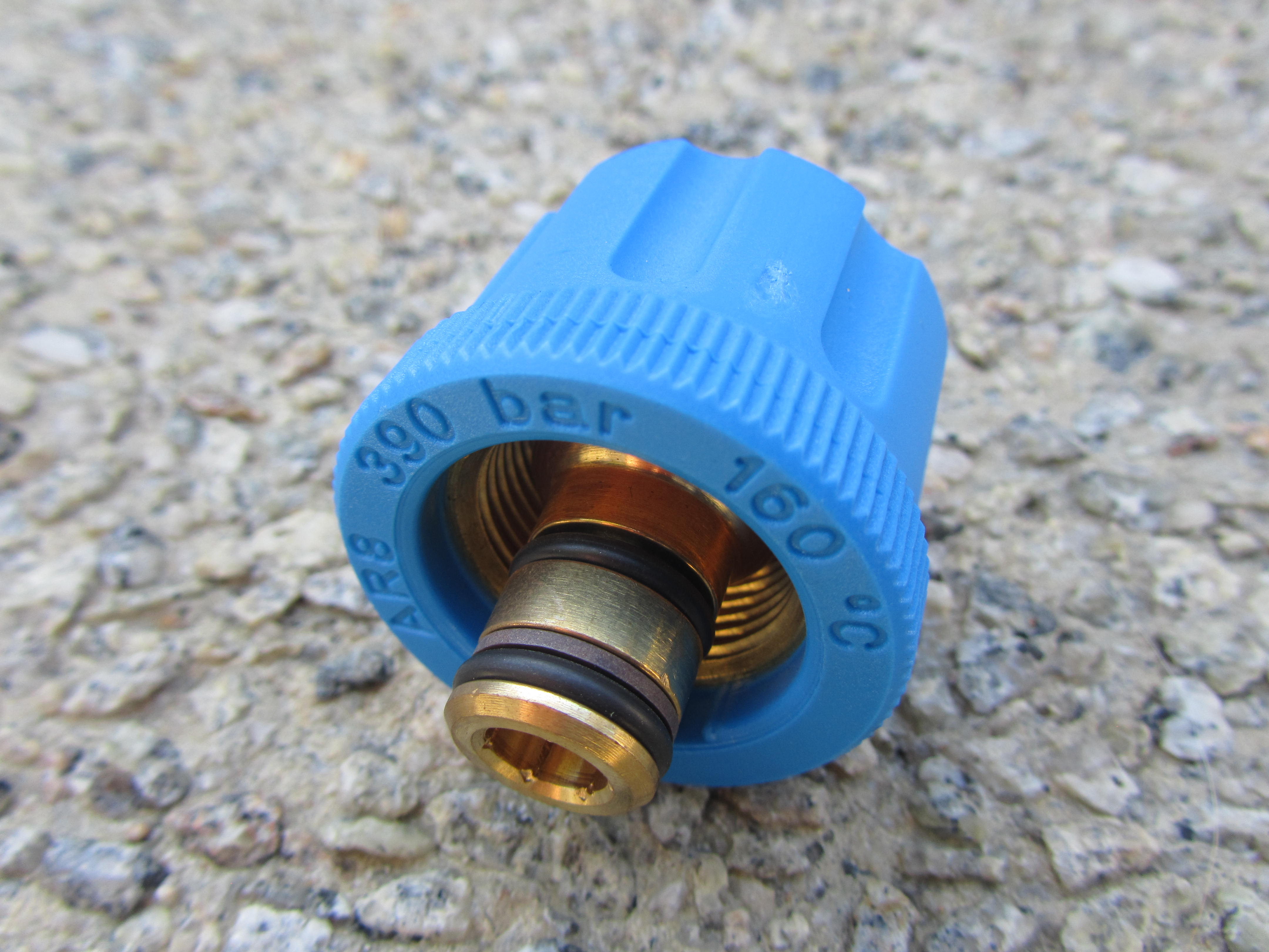 M24 F to 1|4 BSP F High Pressure Hose Fitting | 5650psi Max