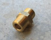 1|4  BSP M - 1|4 BSP M Joiner High Pressure Hose FItting | Image 2