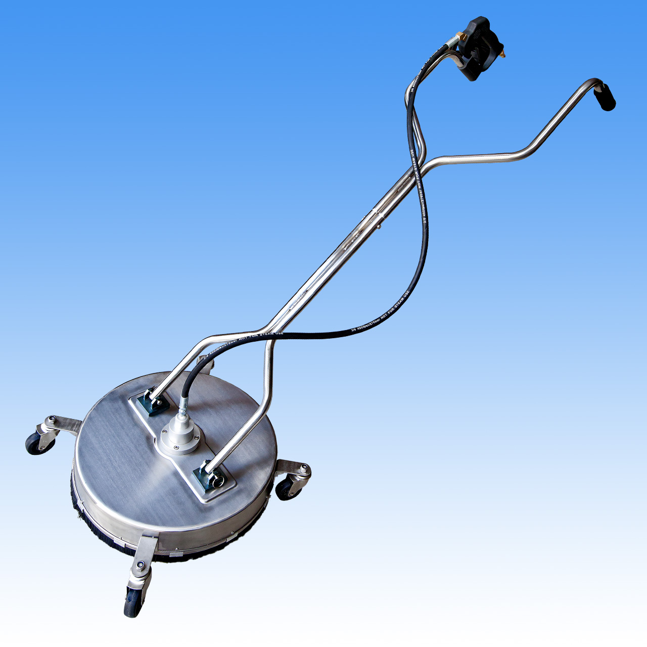 20 Inch Rotary Floor - Surface Cleaner Stainless Steel - 3 Nozzle