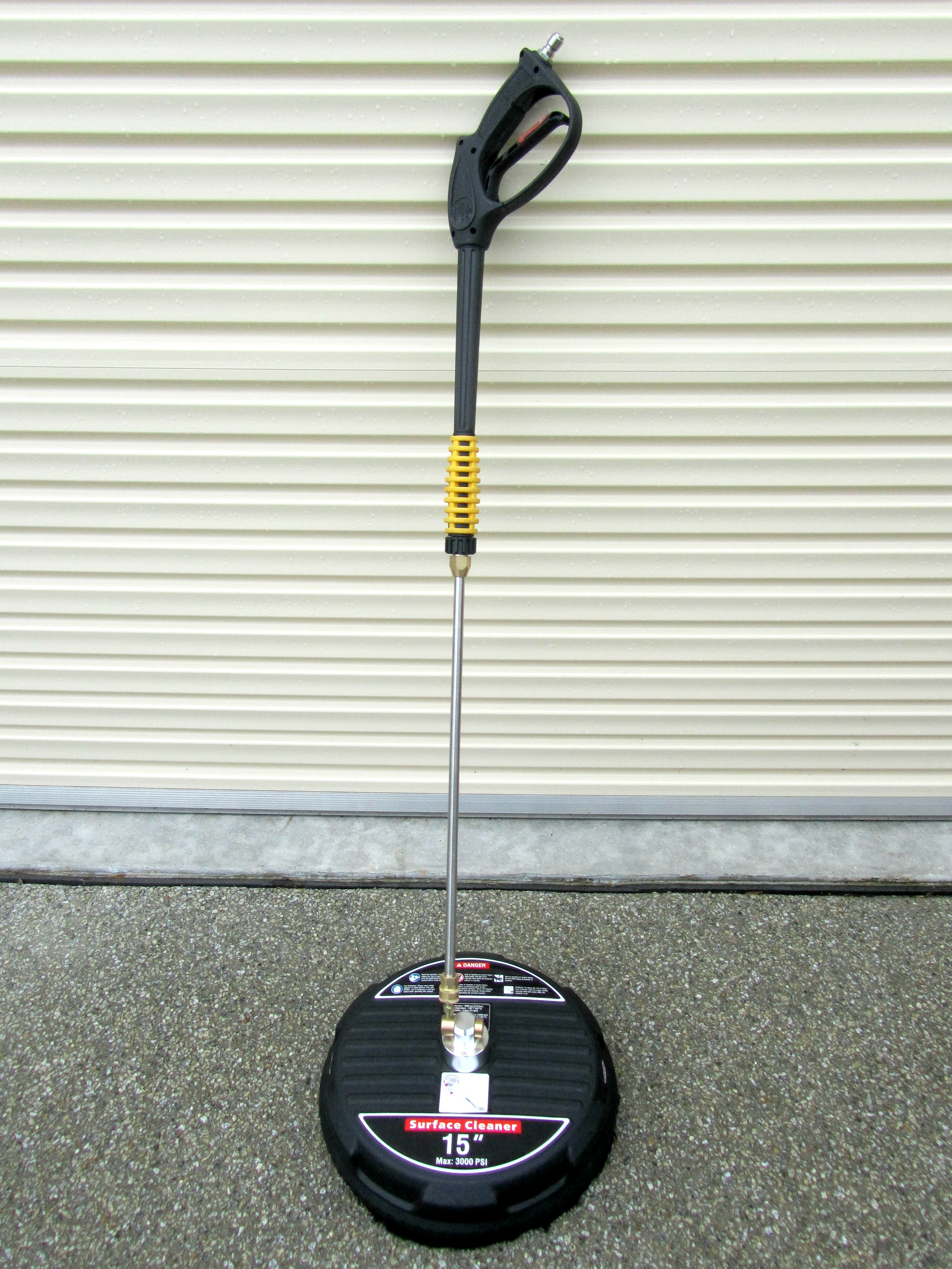 15 inch poly lightweight rotary floor surface cleaner for 15 floor