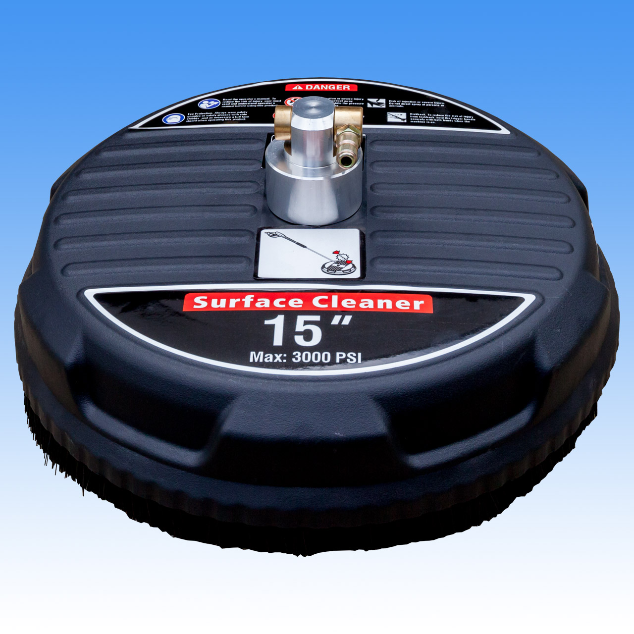 15 Inch Poly Lightweight Rotary Floor - Surface Cleaner