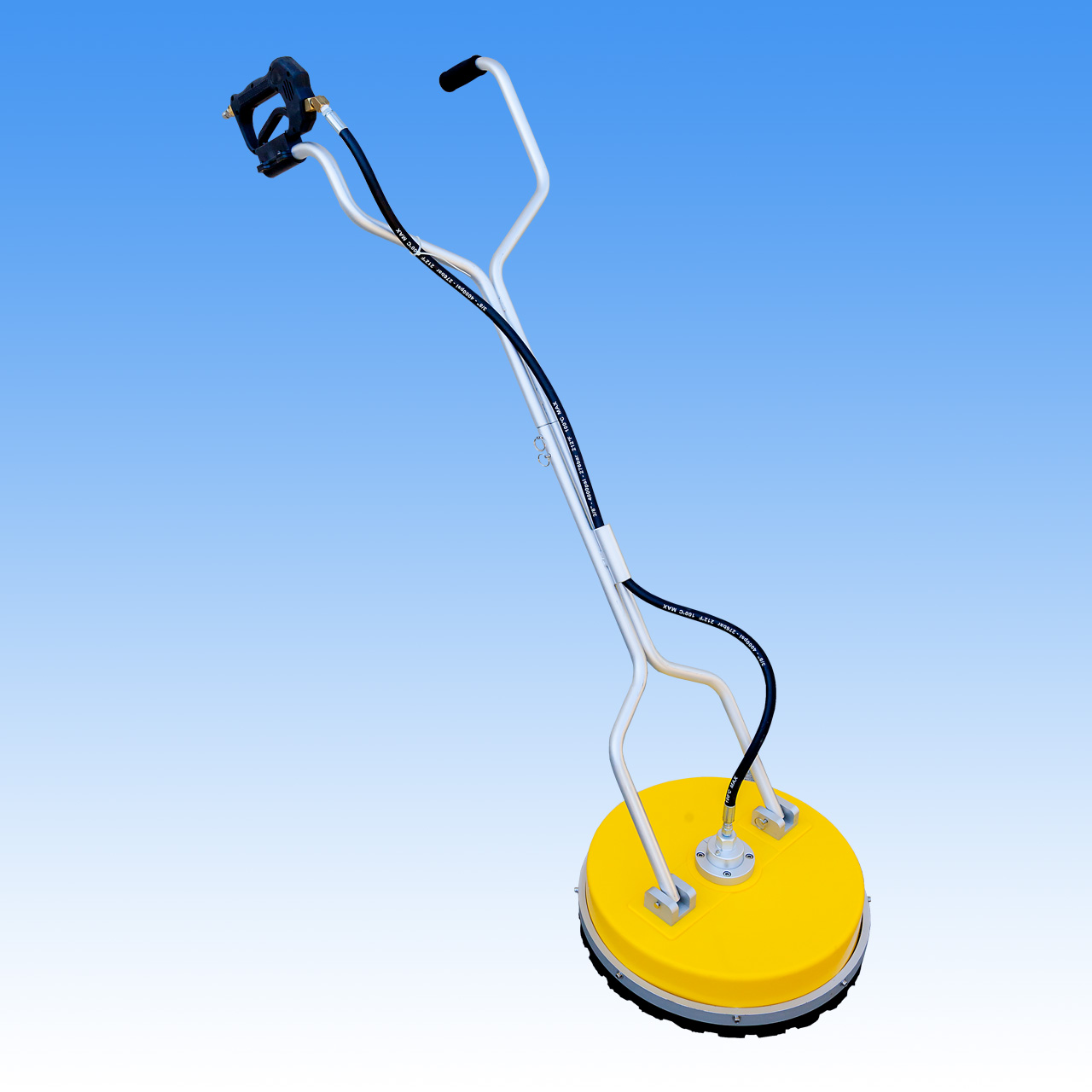 18 Inch Poly Lightweight Rotary Floor - Surface Cleaner - 2 Nozzle