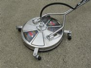 22 Inch BE Whirlaway Stainless Steel | 3 Nozzle Rotary Surface Cleaner | Image 2