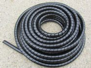 20 Metre Pigs Tail Protective Hose Wrapping (Spiral Wrap) ForSteel Braided Hoses | Image 2