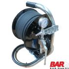 Jetter Mini Reel Plus 60 Metre 1|4 Inch Jetting Hose With Shut Off Valve and Gauge | Main Image