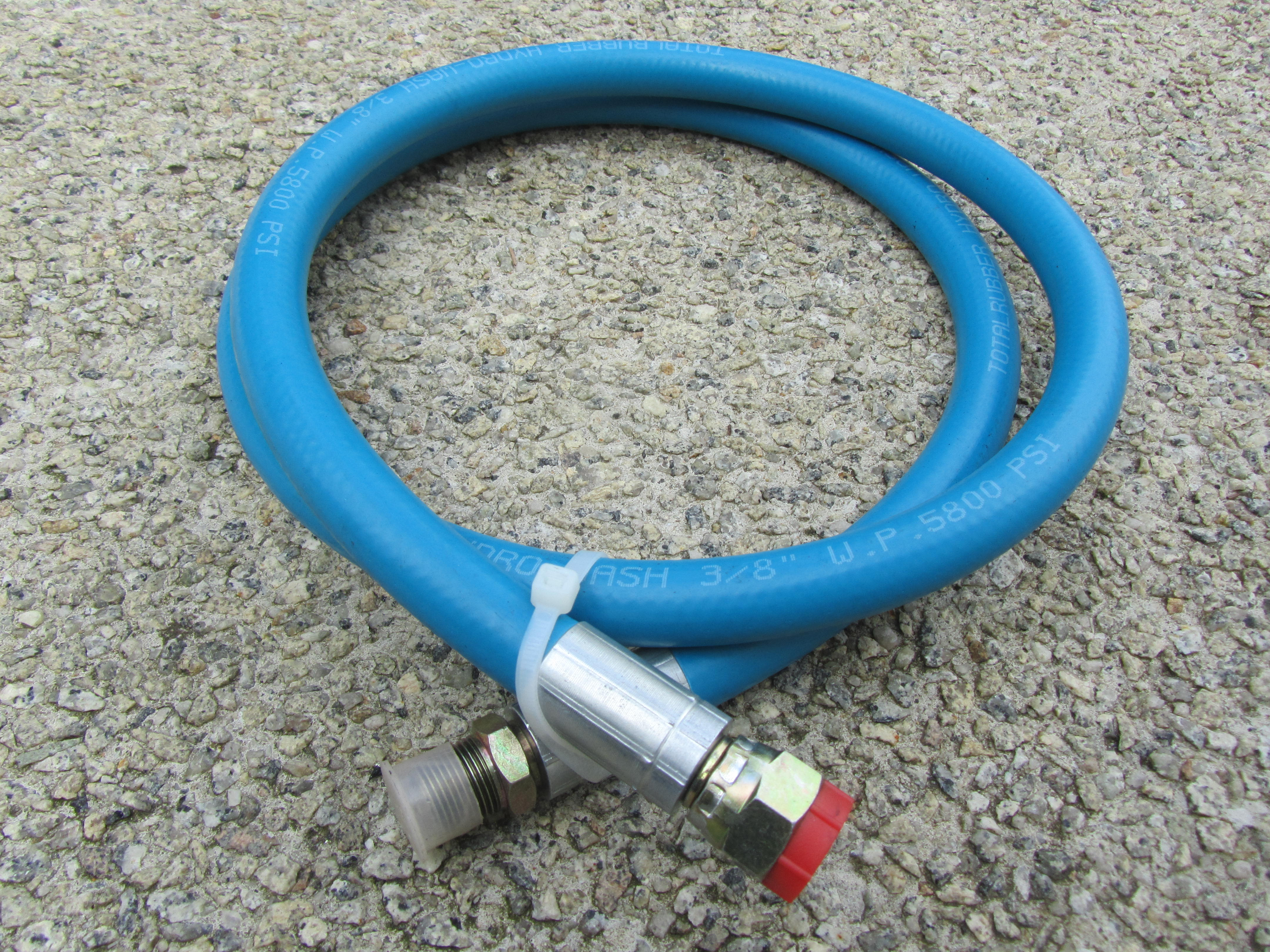 1.5 Metre Hose Tail 2 Wire With 3|8 Male|Female Fittings