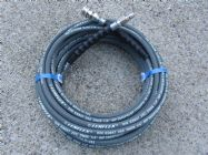 20 Metre 1|4 Inch 5800psi Grey 2 Wire Low Marking QC | Image 4