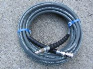 20 Metre 1|4 Inch 5800psi Grey 2 Wire Low Marking QC | Main Image