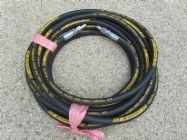 10 Metre Aestr Single Steel Braided High Pressure Hose with Quick Connection Fitting TO SUIT KARCHER | Main Image