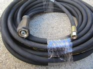 20 Metre Aestr Single Steel Braided High Pressure Hose with 14mm & 22mm Screw Connection Fittings | Image 2