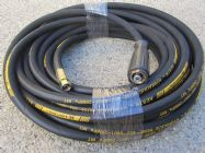 20 Metre Aestr Single Steel Braided High Pressure Hose with 14mm & 22mm Screw Connection Fittings | Main Image