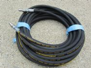 20 Metre Aestr Single Steel Braided High Pressure Hose with Quick Connection Fittings TO SUIT KARCHER | Image 4