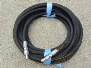 20 Metre Aestr Single Steel Braided High Pressure Hose with Quick Connection Fittings TO SUIT KARCHER | Main Image