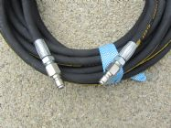 20 Metre Aestr Single Steel Braided High Pressure Hose with Quick Connection Fittings TO SUIT KARCHER | Image 2