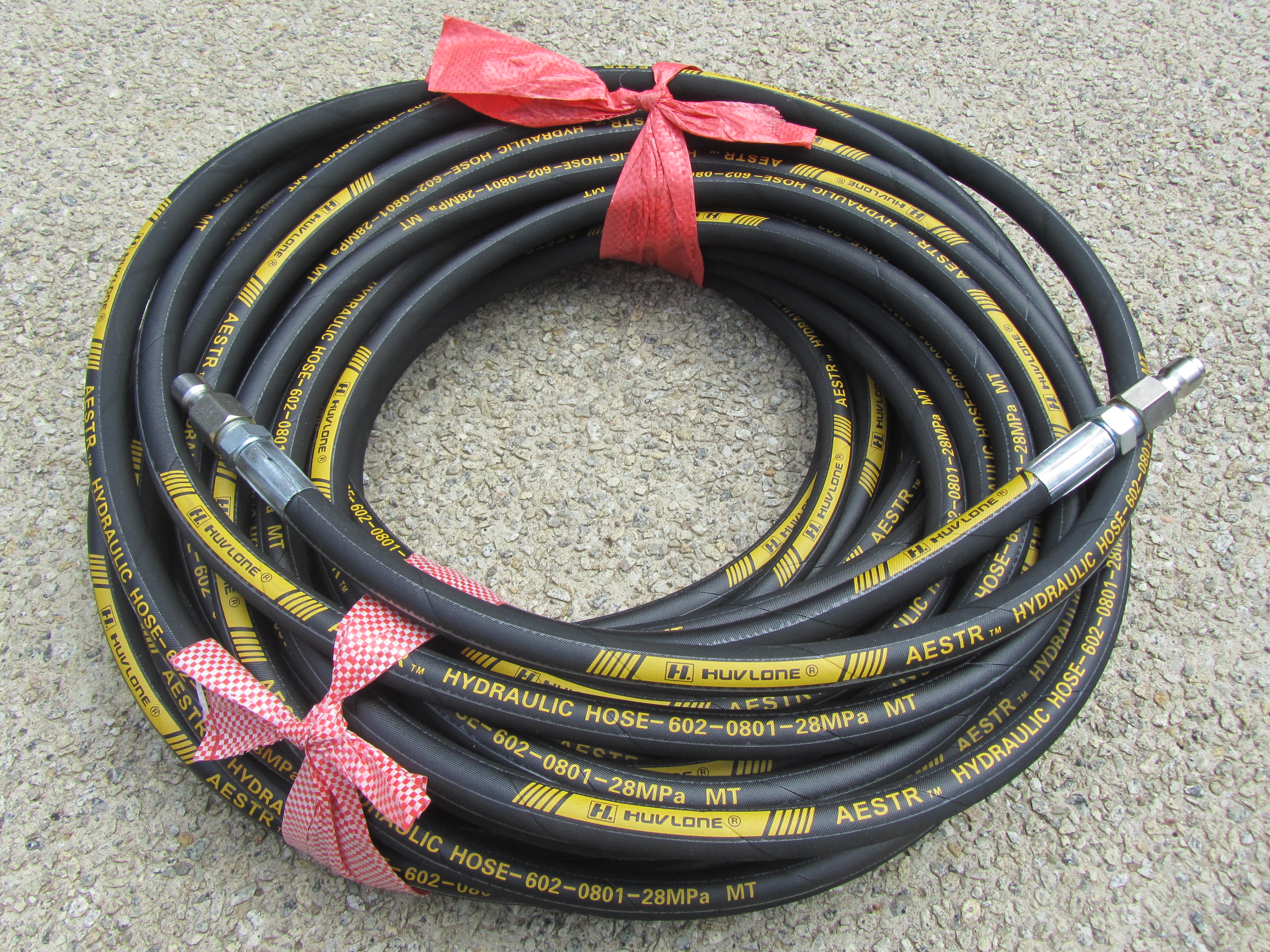 30 Metre Aestr Single Steel Braided High Pressure Hose with Quick Connection Fittings SUIT KARCHER QUICK CONNECT