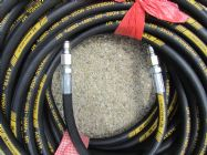 30 Metre Aestr Single Steel Braided High Pressure Hose with Quick Connection Fittings SUIT KARCHER QUICK CONNECT | Image 3