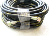50 Metre Aestr Single Steel Braided High Pressure Hose with 22mm Screw Connection Fittings | Image 3