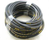50 Metre Aestr Single Steel Braided High Pressure Hose with Quick Connection Fittings | Image 2