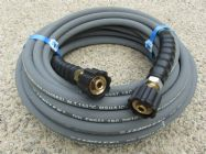 15 Metre 3|8 Inch 4000psi Grey 1 Wire Low Marking |  M22F Screw Connection Ends | Main Image