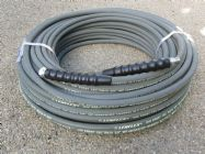 60 Metre 3|8 Inch 4000psi Grey 1 Wire Low Marking M & F | Image 2