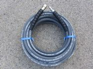 15 Metre 3|8 Inch 4000psi Grey 1 Wire Low Marking |  Quick Connect Ends | Image 2