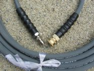 10 Metre 3|8 Inch 4000psi Grey 1 Wire Low Marking With Quick Connection Fittings | Image 2