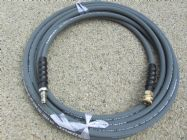 10 Metre 3|8 Inch 4000psi Grey 1 Wire Low Marking With Quick Connection Fittings | Main Image